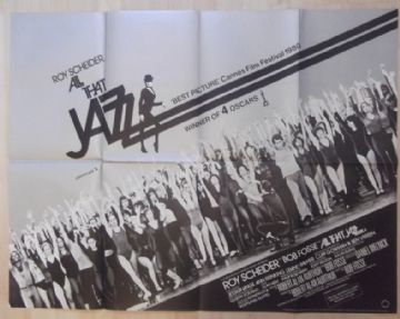 All That Jazz (1979) Vintage Movie Poster - UK Quad